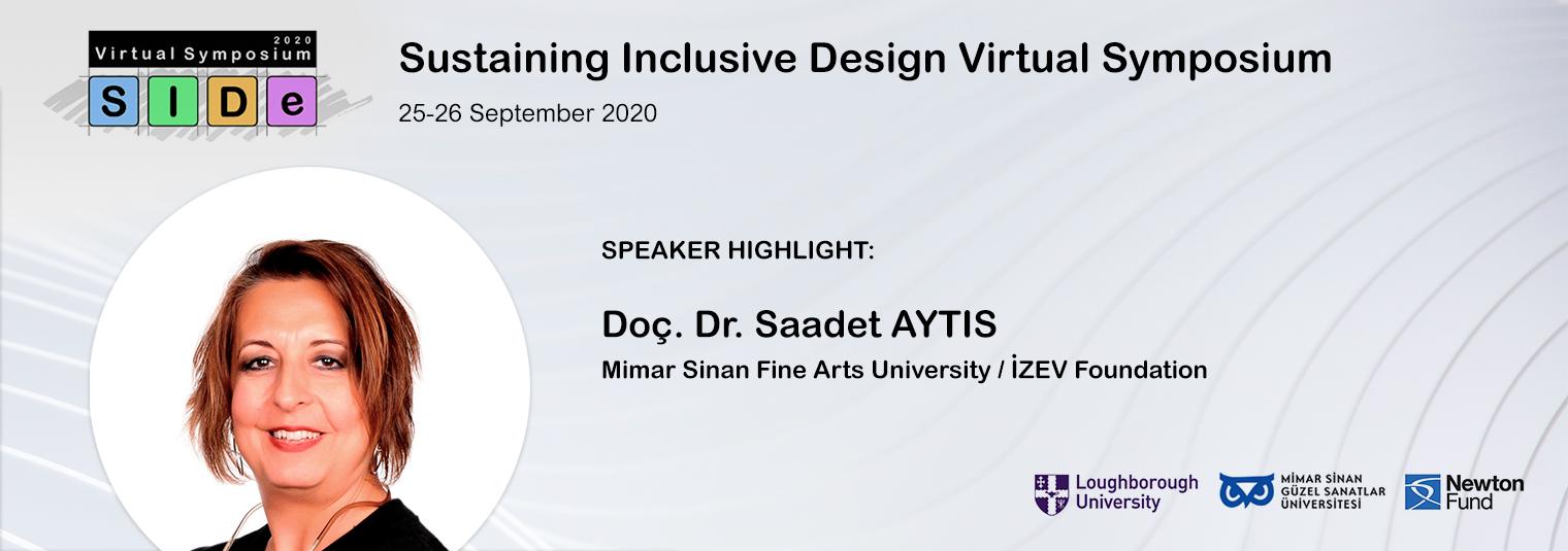 Konuşmacı Duyurusu: Doç. Dr. Saadet AYTIS