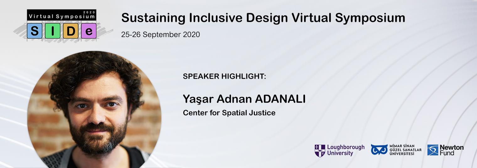 Konuşmacı Duyurusu: Yaşar Adnan ADANALI