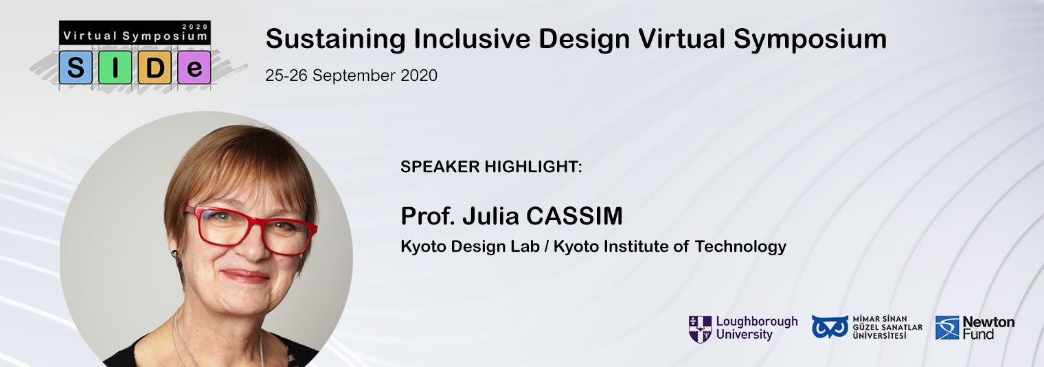 Speaker Highlight: Prof. Julia CASSIM