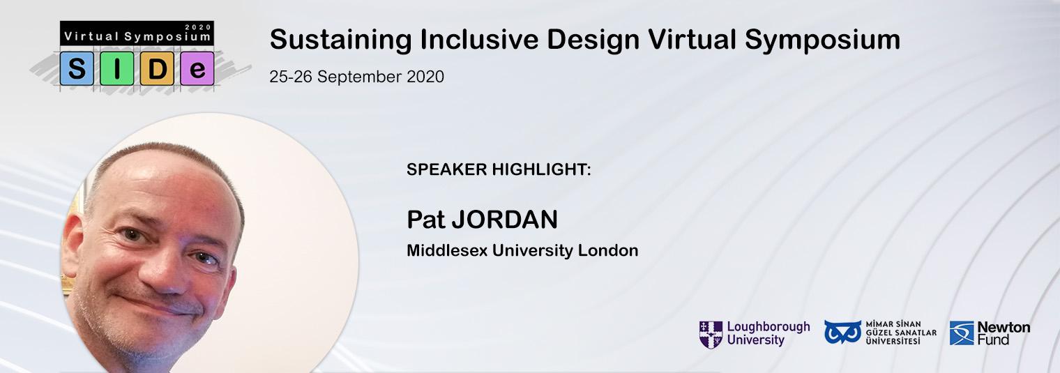 Konuşmacı Duyurusu: Pat JORDAN